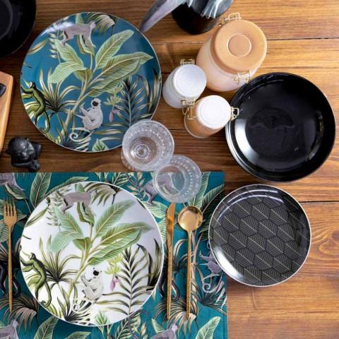18dílná služba moderního nádobí z barevného porcelánu a kameniny - Antananarivo
