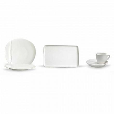Moderní porcelánová mísa Aperitiv sada 36 kusů - Nalah