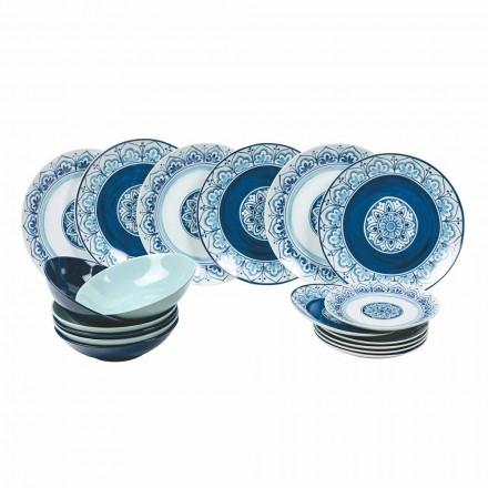 Moderní stolní porcelánové a kamenné desky dokončují 18 kusů - Ravello