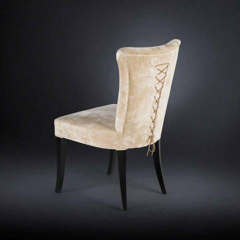 2. září krásné stylu židle čalouněný époque barev Ecru Fingers