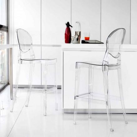 Stolice Současná elegantně průhledné polykarbonátové Bosa
