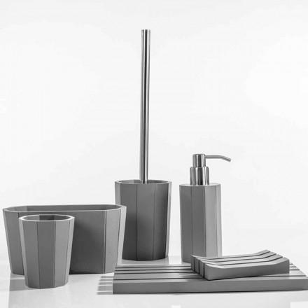 Rivello resinové koupelnové doplňky v moderní pryskyřici