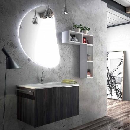 Závěsná koupelnová nástěnná kompozice vyrobená v Itálii, Sad
