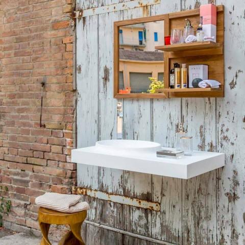 Brusson solární povrch koupelnového nábytku sada moderního designu