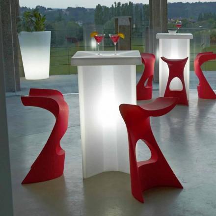 Venkovní vysoká stolička pro outdoor / indoor Slide Koncord, vyrobená v Itálii