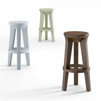 Barová stolička s vysokým designem z polyethylenu vyrobená v Itálii - Tinuccia