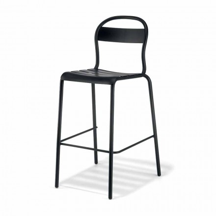 Vysoce stohovatelná venkovní stolička vyrobená v Itálii, 2 kusy - Trixie