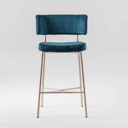 Vysoce drahá stolička se sametovým čalouněním vyrobená v Itálii - Aljaška