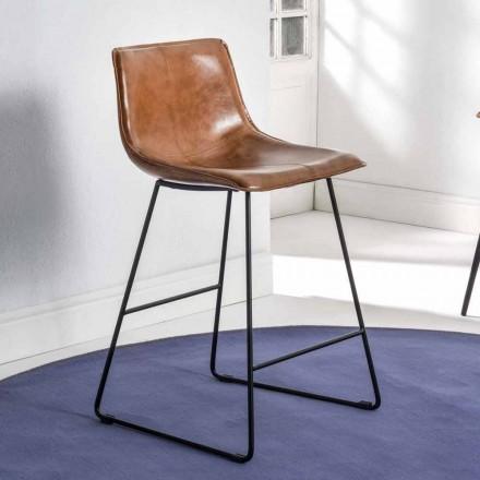 Sáňková stolička s eko-kůží Effect a černá základna - Ovidio