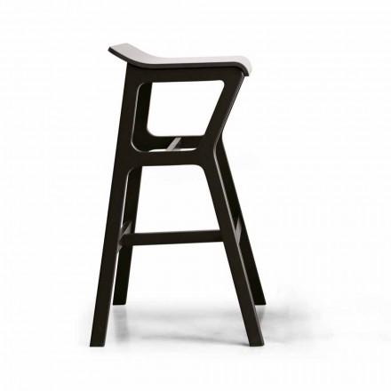 Stolička s konstrukcí z masivního bukového dřeva vyrobená v Itálii - Řezno