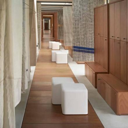Polykuretánová stolička z měkké kostky Slide Soft Cube z Itálie