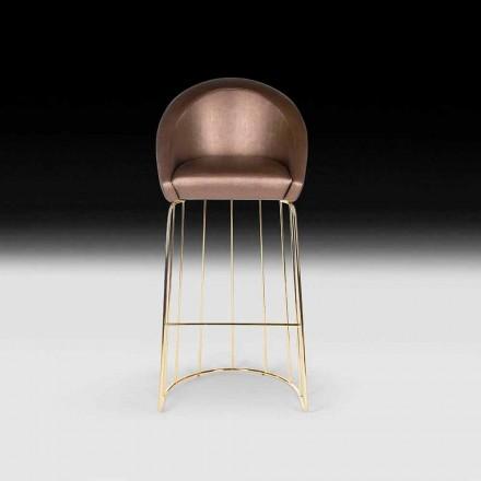 Současná barová stolička 100% Made in Italy Dedo
