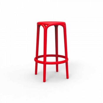 Venkovní stolička Brooklyn by Vondom z polypropylenu, H 76 cm