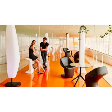 Moderní venkovní stolička Ufo by Vondom, vyrobená z polyethylenu