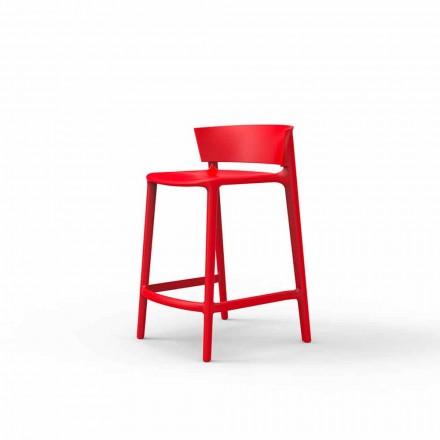 Zahradní stolička Africa by Vondm, H 85 v polypropylenovém a vláknitém skle, 4 kusy