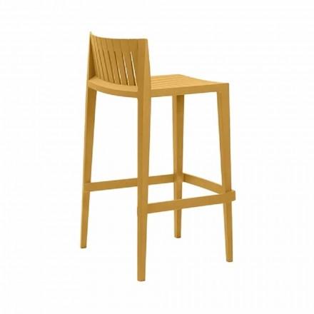 Venkovní stolička Spritz by Vondom, v polypropylenu se skleněným vláknem, 4 kusy