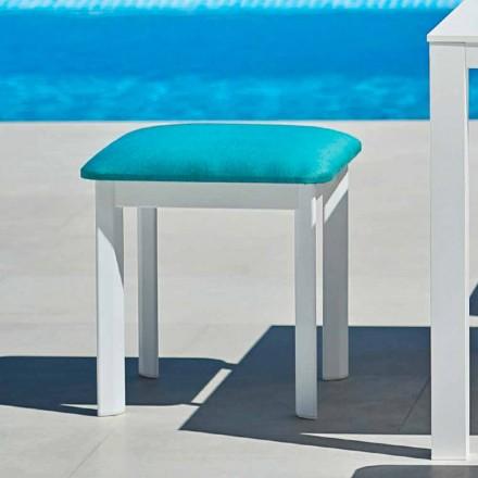 Varaschin System zahradní stolička z čalouněné tkaniny a hliníku