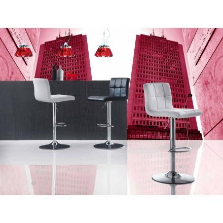 Výtahová stolička pro moderní design, eko-kožené sedadlo - Delfina