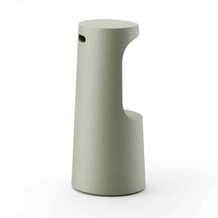 Vysoce designová stolička z matného polyethylenu pro venkovní použití v Itálii - Forlina