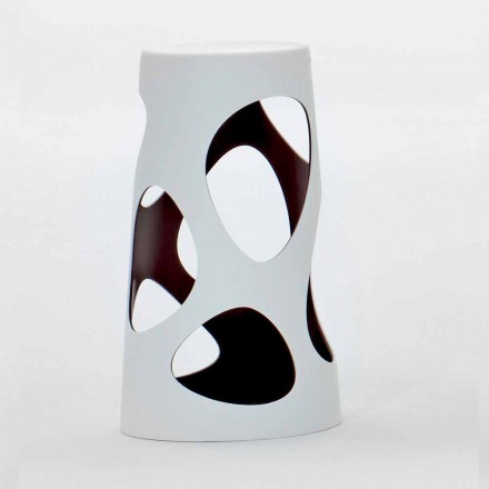 Venkovní nebo vnitřní stohovatelná stolička bílá nebo černá 2 kusy - Liberty od Myyour