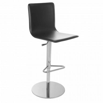 Otočná stolička s moderní designovou zádovou opěrkou Gord, H 113 cm
