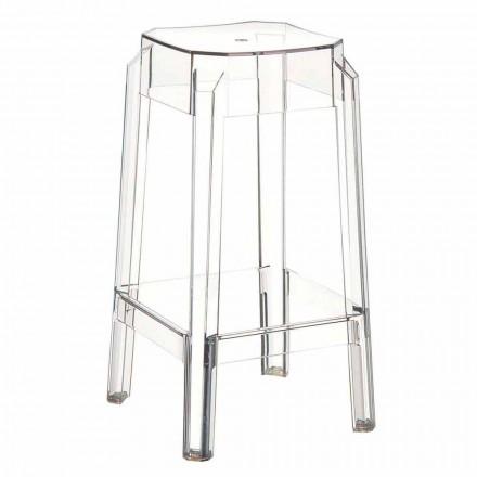 Pescara moderní transparentní polykarbonátová stolička