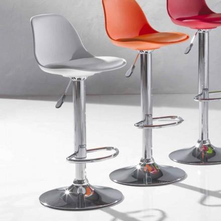 Moderní designová stolička z polypropylenu a výtahu - Rosa