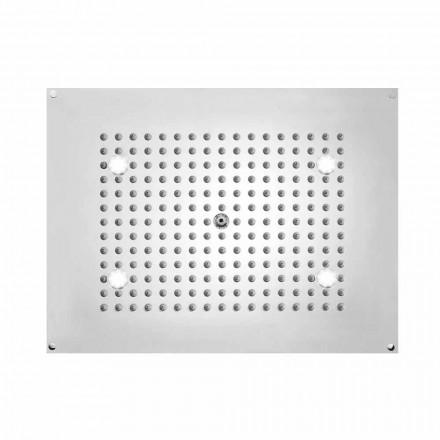 Bossini Obdélníkový Sprchová hlavice s paprskem a LED světla