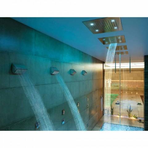 Sprchová hlavice s chromoterapie dvě moderní design sen tryskami