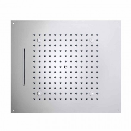 Sprchová hlavice s LED svítidly do dvou moderních design sen tryskami