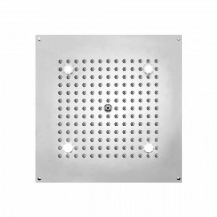 Sprchová hlavice s náměstí LED světla do proudu Bossini