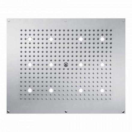 Sprcha moderní design s dešťovou proudem a LED světla