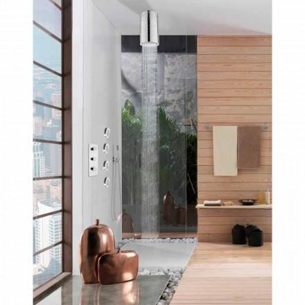 Nadzemní za originální sprchový kout s vložkami Swarovski Bossini