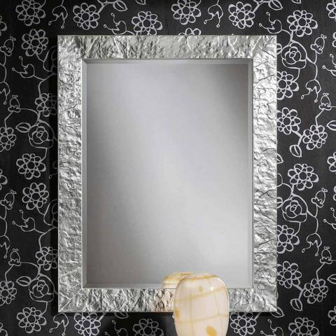 Ručně dělané Antonio Antonio jedle dřevo stříbrné nástěnné zrcadlo