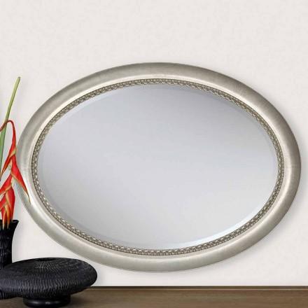 Moderní design dřevěné nástěnné zrcadlo vyrobené v Itálii Edward
