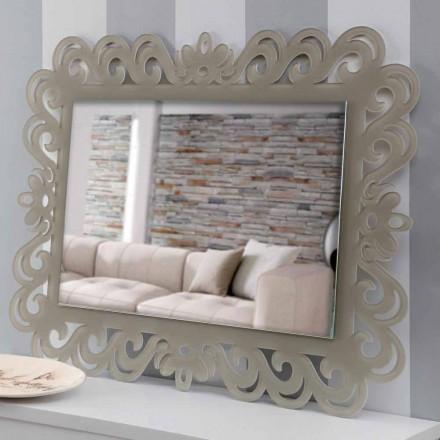 Moderní design obdélníkové nástěnné zrcadlo z plexiskla Tortora - Selly
