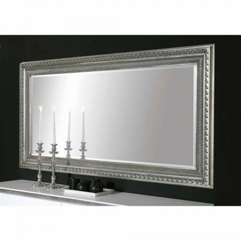 Claudio ručně vyrobené moderní dřevěné nástěnné zrcadlo s moderním designem