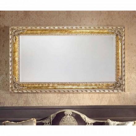 Umbrian moderní nástěnné zrcadlo s obdélníkovými čarami v Itálii