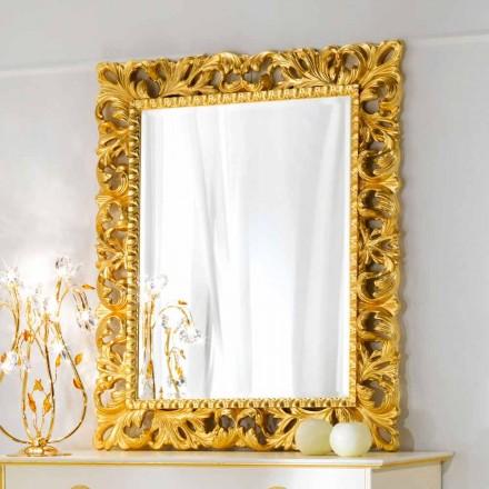 Nástěnné zrcadlo klasické konstrukce Ives, 100x120 cm