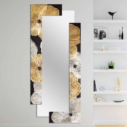 Designové zrcadlo s dvojitou stěnou vyrobené v Itálii společností Daiano