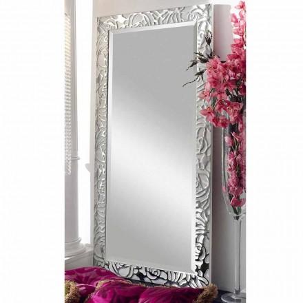 Moderní design dřevěné nástěnné zrcadlo vyrobené v Itálii Augustus
