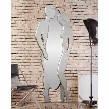Man & Woman moderní design Mdf stěnové zrcadlo tvarované ručně