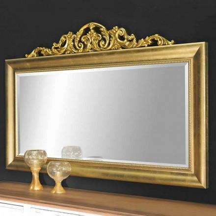 Moderní nástěnné zrcadlo ze dřeva v Itálii Kevin