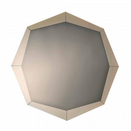 Designové zrcadlo v zrcadlovém provedení Crystal Made in Italy - Bolina