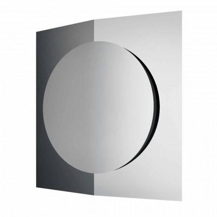 Moderní designové nástěnné zrcadlo složené ze 3 panelů vyrobených v Itálii - Bristolu