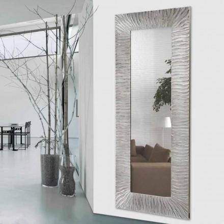 Nástěnné designové zrcadlo Onde od Viadurini Decor v Itálii