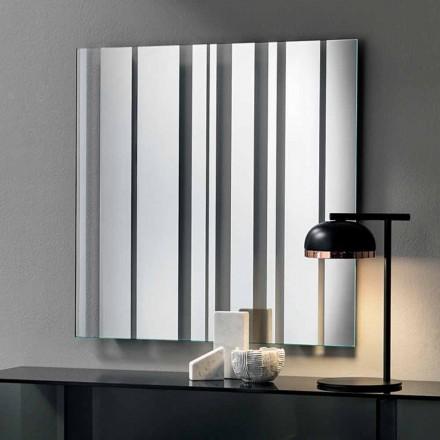 Moderní design čtvercové zrcadlo vyrobené v Itálii - Coriandolo