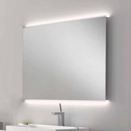 Koupelna zrcadlo moderního designu LED světlo s matné hrany VEVA