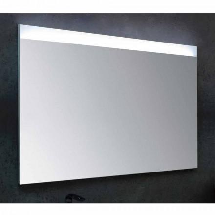 Zrcadla v koupelně s moderním designem LED osvětlení Yvone