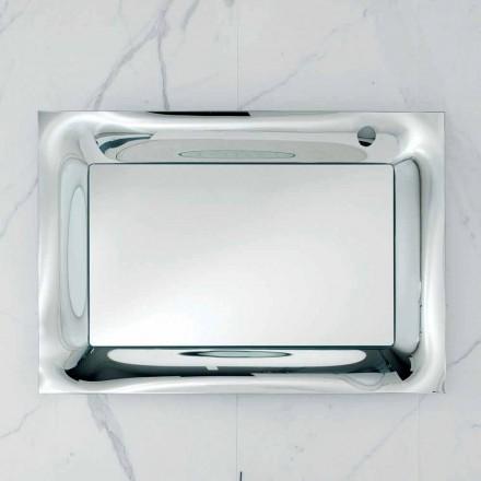 Zrcadla v koupelně frame roztavené sklo stříbrná moderní design Arin